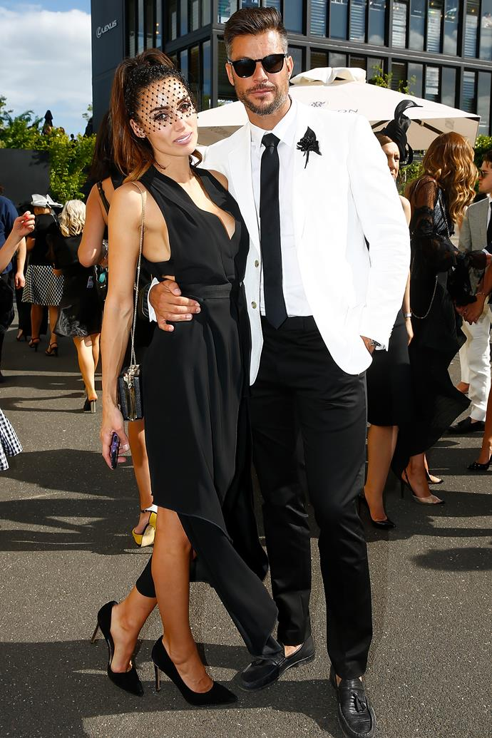 Snezana Markoski and Sam Wood at Derby Day.