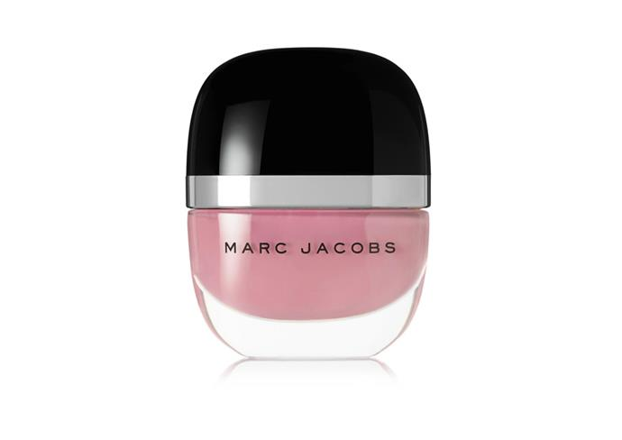 "Enamored Hi-Shine Nail Lacquer by Marc Jacobs Beauty, $18 at [Net-A-Porter](https://www.net-a-porter.com/us/en/product/904416|target=""_blank""