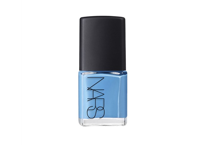 "Nars Nail Polish IKIRU, $20 at [Nars Cosmetics](https://www.narscosmetics.com/on/demandware.store/Sites-nars_us-Site/default/Product-Variation?pid=999NARS000010&dwvar_999NARS000010_color=7845036630 target=""_blank"" rel=""nofollow"")"