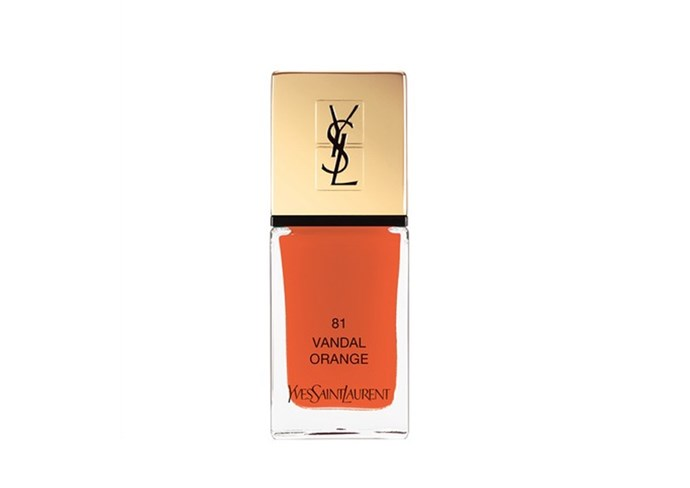 "La Laque Couture by YSL, $42 at [Myer](https://www.myer.com.au/p/ysl-beauty--la-laque-couture|target=""_blank""