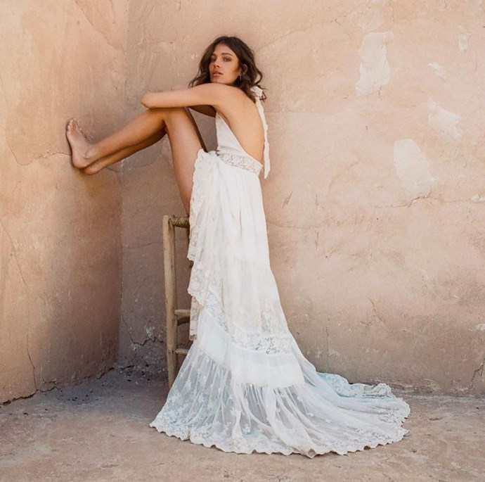 **Spell & The Gypsy Collective:** For the bohemian bride, there could be no better match than Byron Bay-based label Spell & The Gypsy Collective, which offers easy, breezy dresses with antique lace accents and whimsical silhouettes. The best part? They mostly sit below $1000.