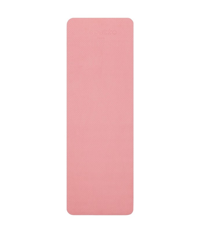 "Spongy, shock-absorbent and sweetly coloured, this mat rolls up and gets strapped up for easy after-class transport.<br><bR> Yoga Mat in Grey/Rose by Repetto, $120 at [Mode Sportif.](https://www.modesportif.com/shop/product/repetto-yoga-mat-in-greyrose/|target=""_blank""