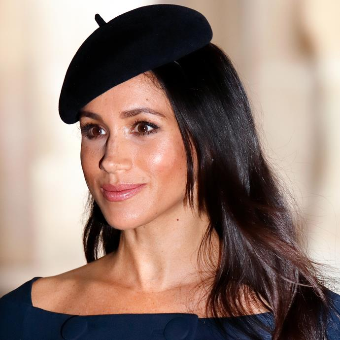Meghan Markle at a Remembrance event earlier this week.