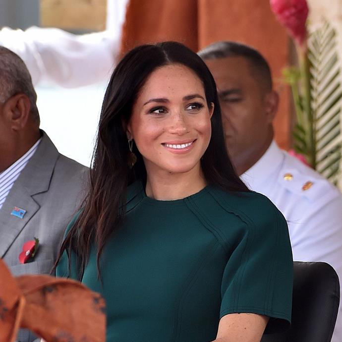 Meghan Markle in Tonga in October 2018.