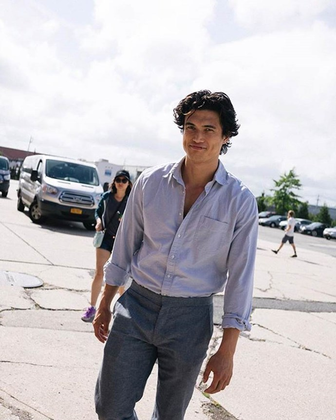 **TAURUS: Charles Melton (Reggie Mantle on *Riverdale*)**  Taureans, we're sorry if you were hoping for KJ or Cole, but as far as the *Riverdale* cast go, Charles Melton is one serious heart breaker. Not to mention, his sarcasm and entire demeanour is exactly what Taurus women want in a man. Case closed.   *Image: @melton*