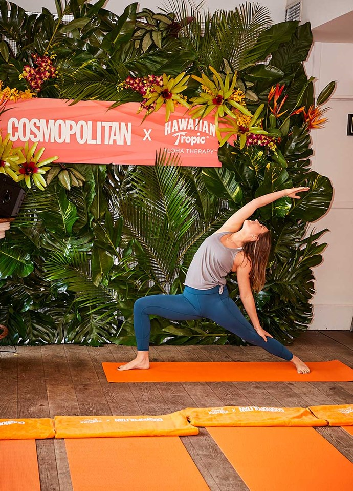 "Next up: an R&B yoga by Melbourne's [Yoga 213](http://www.yoga213.com.au/shop/#|target=""_blank""