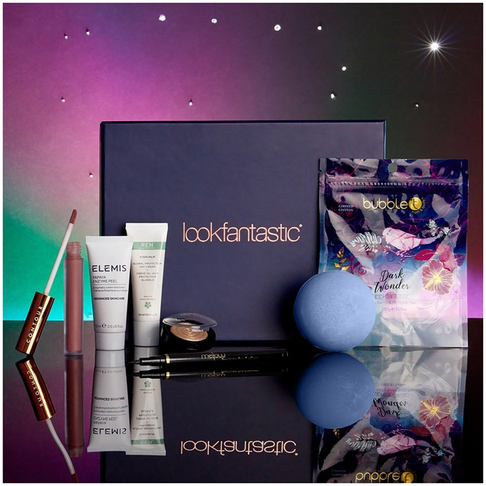 """***Look Fantastic*** <br> Look Fantastic's Beauty Box includes the six best hair, makeup and skincare products their site has to offer, delivered on the month—featuring everything from Elemis peels to bath bombs. We aren't fussy. <br><br> *Shop at: [Look Fantastic](https://www.lookfantastic.com/beauty-box/lookfantastic-beauty-box-subscription/11140463.html target=""""_blank"""" rel=""""nofollow"""")*"""