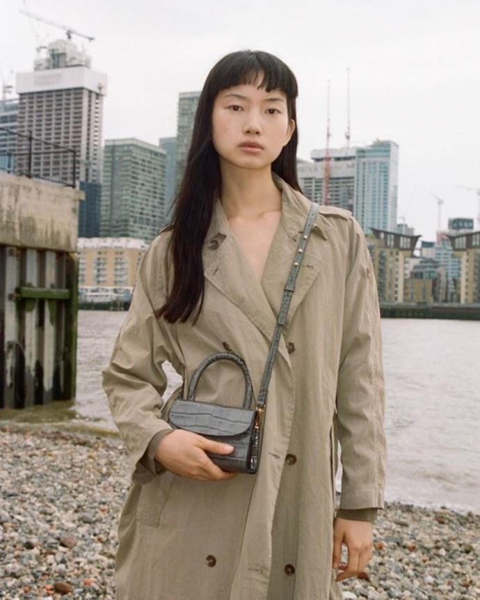 The by FAR Mini Bag.