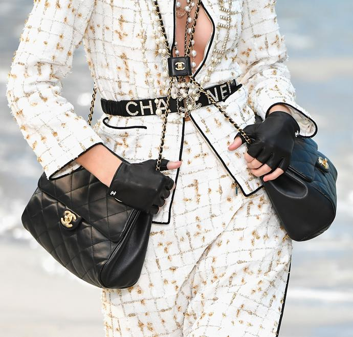 The Chanel Double-Bag.
