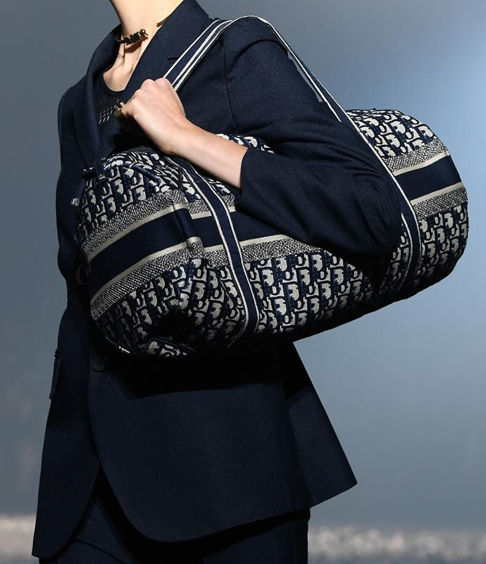 The Dior Duffle Bag.