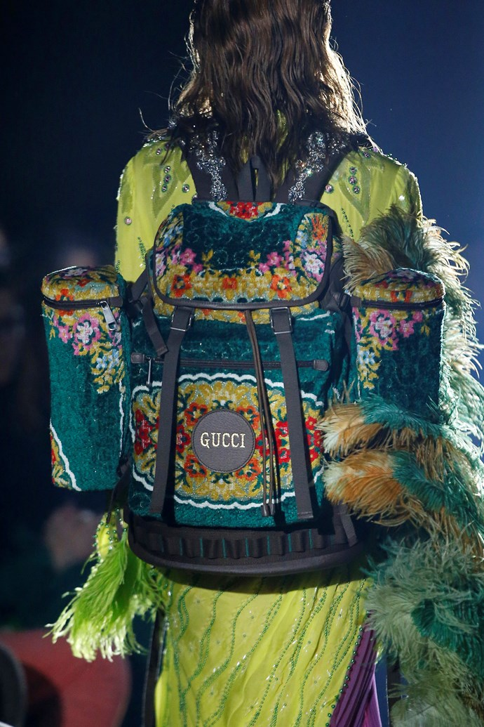 The Gucci Backpack.