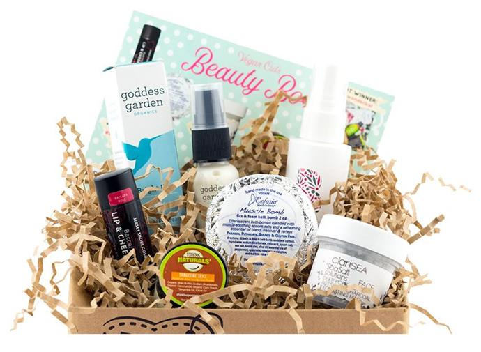 "***Vegan Cuts Beauty Box*** <br> For all those with sustainability on their minds, Vegan Cuts offers ethical beauty boxes brimming with smaller, vegan-friendly brands. Their Beauty Box is a highlight—it only selects products with a certifiably sustainable ethos. <br><br> *Shop at: [Vegan Cuts](https://vegancuts.com/beautybox|target=""_blank""