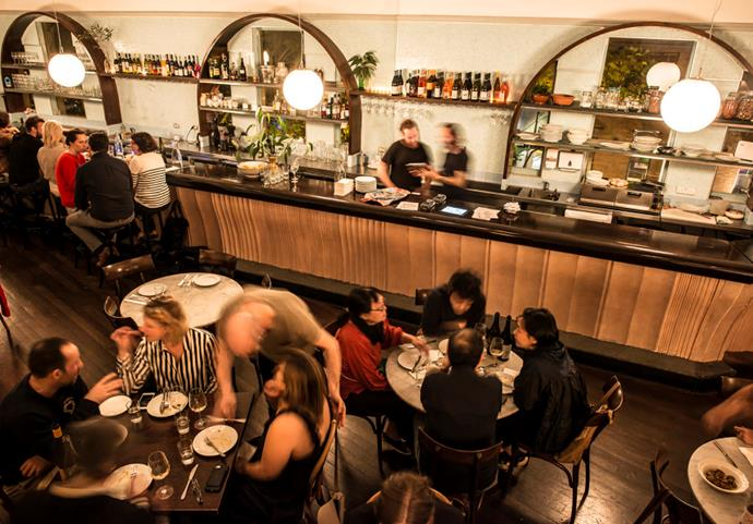 "***Don Peppino's*** <br> Okay, so we know that this re-jigged nightclub space is actually a restaurant—but once you pay a visit to this heavenly underground haunt, you'll know that it definitely hasn't lost its mojo. Choose to feast on an authentic Italian [pasta](https://www.elle.com.au/fashion/bella-hadid-kendall-jenner-eat-pasta-flip-the-bird-17838|target=""_blank"") with a close friend, or enjoy an after-hours Italian beverage—and considering they're open 'til late, it's your call. <br><br> *1 Oxford Street, Paddington 2021* <br> *Image: [Broadsheet](https://www.broadsheet.com.au/sydney/food-and-drink/article/theres-so-much-love-about-don-peppinos-italian-restaurant-former-90s-nightclub