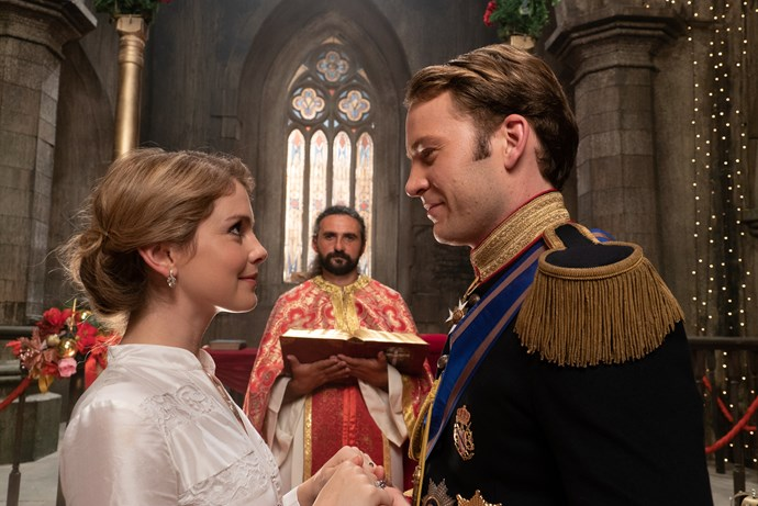 """***A Christmas Prince: The Royal Wedding:*** But wait, there's more! Keep scrolling if you haven't seen the first instalment because spoilers are incoming. """"A year after Amber helped Richard secure the crown, the two are set to tie the knot in a royal Christmas wedding—but their plans are jeopardised when Amber finds herself second-guessing whether or not she's cut out to be queen, and Richard is faced with a political crisis that threatens to tarnish not only the holiday season, but the future of the kingdom,"""" Netflix explains. A lot to process."""