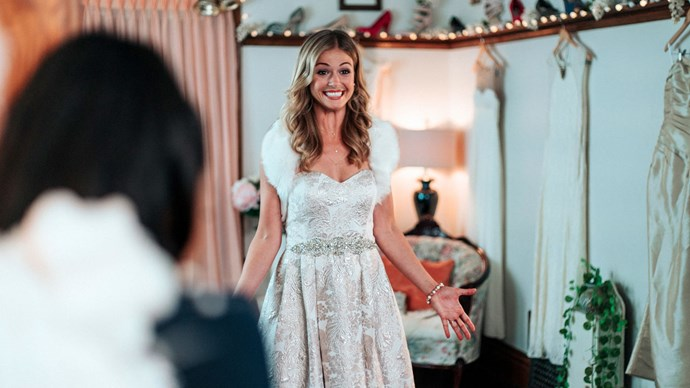 """***Christmas Wedding Planner:*** In what sounds like a very niche job description, this movie is actually about a wedding planner whose world is """"turned upside down when a handsome private investigator is hired to disrupt one of her biggest jobs"""". We've all been there."""