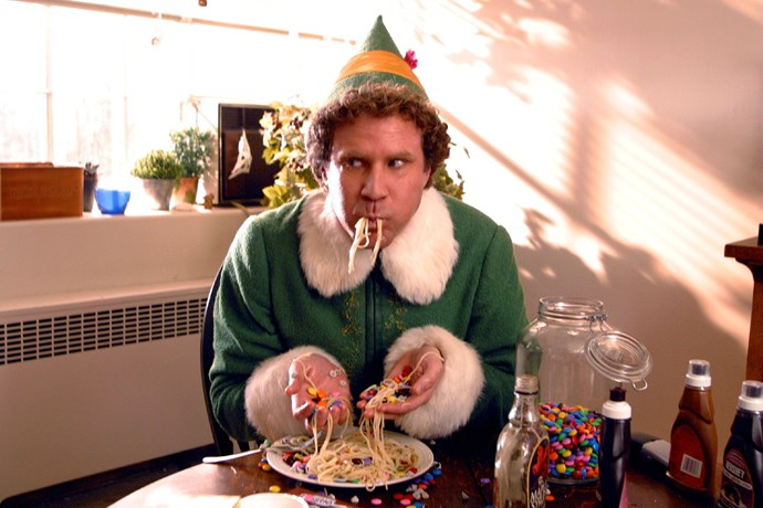 ***Elf:*** Will Ferrell is at his comedic best as Buddy, a human raised by elves in the North Pole, who suffers an identity crisis that prompts him to travel to New York City to find his real dad.