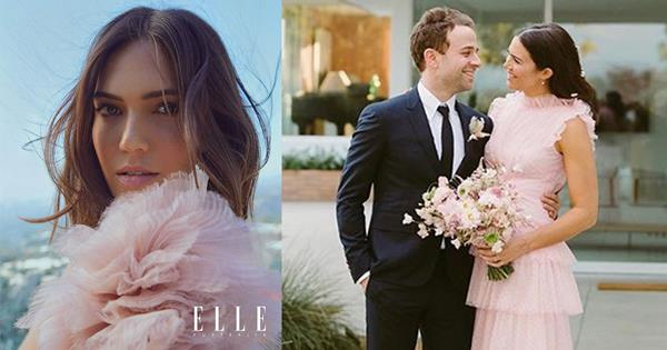 Mandy Moore Wedding.Mandy Moore Opens Up About Meeting Husband Taylor Goldsmith