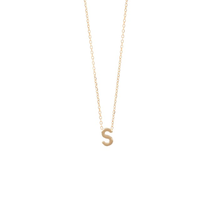"""***A piece of jewellery she'll wear forever***<br><br> If you want your 'proposal' to live a little long than the engagement, opt for a piece of personalised jewellery. Whether it's a name-plate necklace or an initial ring, a well-made piece can be worn on the wedding day—and on every day after that. Package it up nicely and when you give it to her, ask her if she'll wear it with her bridesmaids dress!<br><br> Necklace, $285 by [Sarah & Sebastian](https://www.sarahandsebastian.com/products/petite-letter-necklace