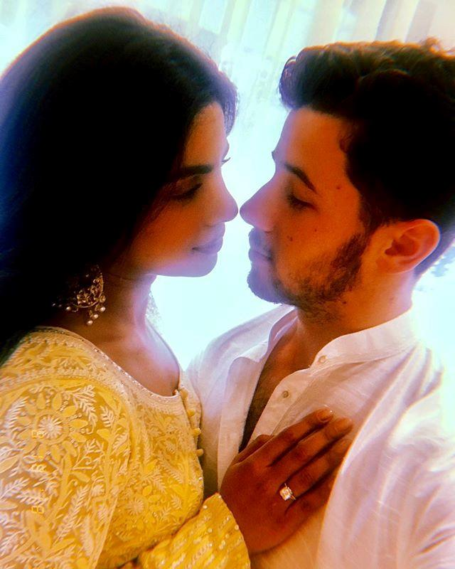"***August 18:*** Chopra shared the news of her engagement with Jonas on Instagram, in a post that now has over 4.7 million likes. <br><br> *Image: [@priyankachopra](https://www.instagram.com/p/BmnZzOogQ2e/|target=""_blank""