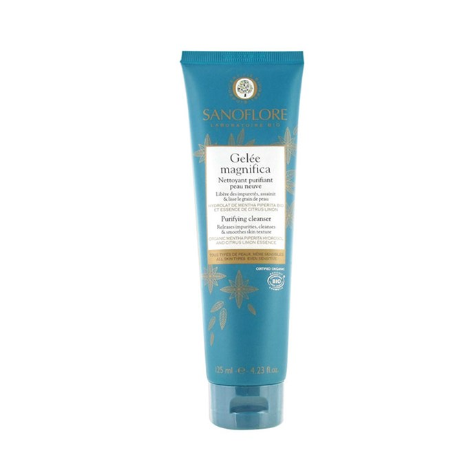 *Sanoflore Gelée Magnifica*<br><br> A soap-free gel that purifies and cleanses skin, this product is a favourite among models and stars.