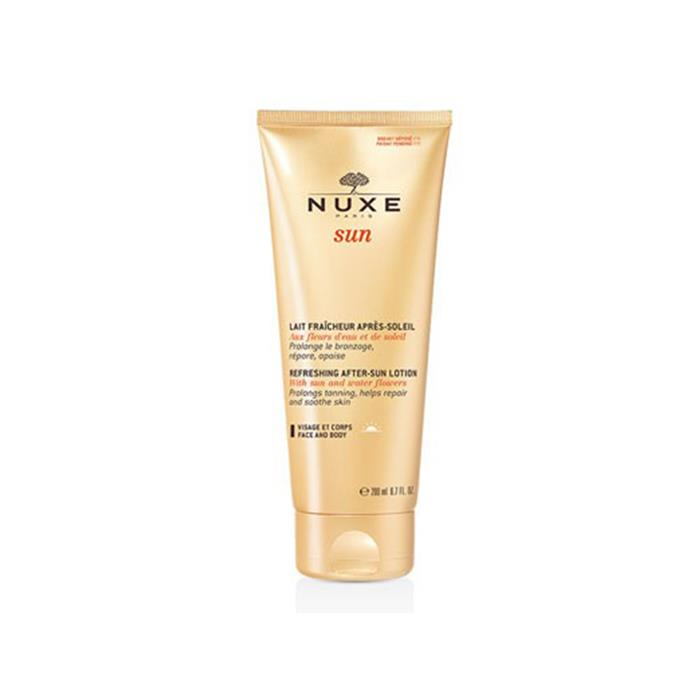 *Nuxe Après-Soleil Lait Fraicheur Apres Soleil Visage Et Corps*<bR><br> One of France's most beloved beauty exports, this lotion helps to prolong and even your tan.