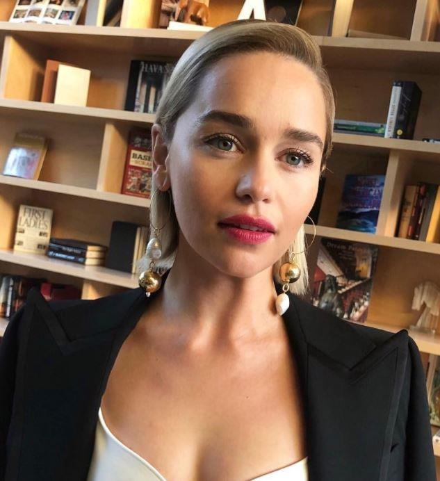 "**Smooth operator:** On the other side of the fence, Martin says ""slick and serious"" styling is also going to be a trend, as demonstrated by Emilia Clarke. *Photo: [@jennychohair](https://www.instagram.com/jennychohair/?hl=en