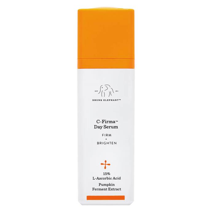 "Drunk Elephant C-Firma Day Serum, $116 at [Sephora](https://www.sephora.com/product/c-firma-day-serum-P400259|target=""_blank""
