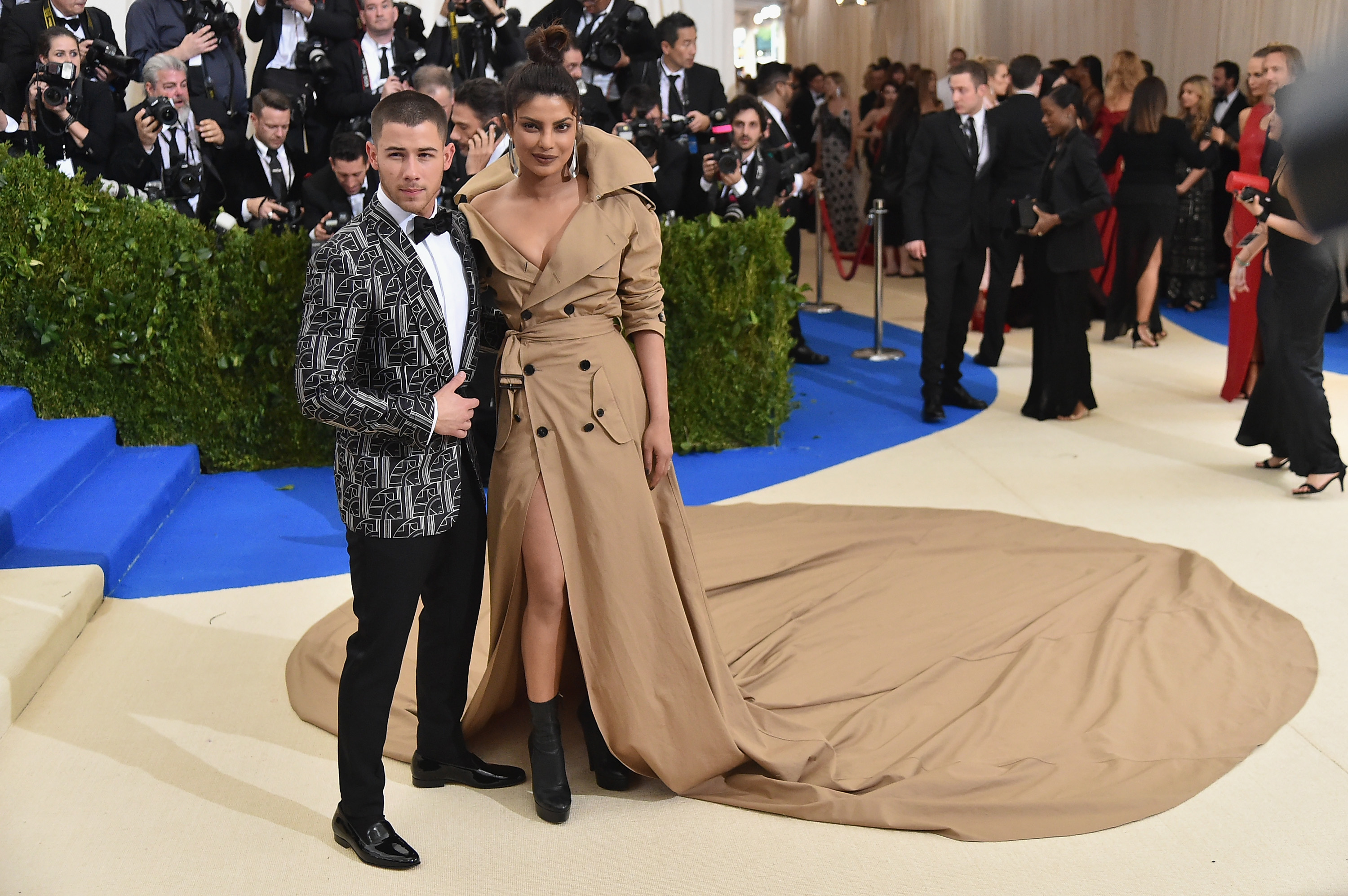 Priyanka Chopra and Nick Jonas criticised by PETA for animal abuse