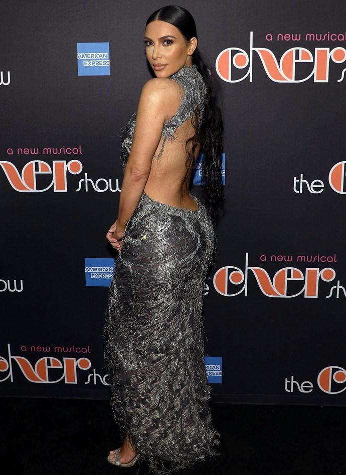 Kim Kardashian West in New York on December 3, 2018.