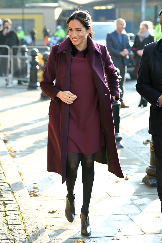 Meghan, Duchess of Sussex in London on November 21, 2018.
