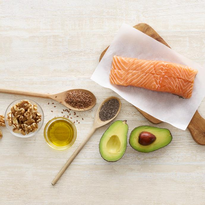***Foods brimming with omega-3*** <br> Salmon, walnuts and soy all have one thing in common; and that's the inimitable power of omega-3. Considering it's an ingredient in plenty of the healthiest foods you can buy, the recent resurgence of omega-3 laden foods doesn't surprise us in the slightest. <br><br> *Image: Getty*