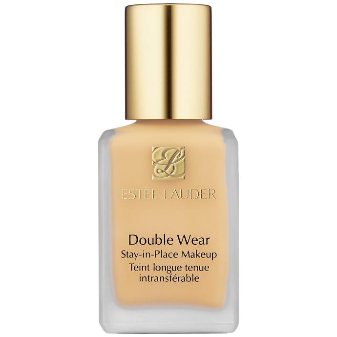 """Resistance to humidity, heat and sweat, Estée Lauder is famed for this foundation.<bR><br> Double Wear Stay-In-Place Makeup SPF 10 Foundation by Estée Lauder, $58 at [Sephora](https://www.sephora.com.au/products/estee-lauder-double-wear-stay-in-place-makeup-spf-10/v/1c0-shell