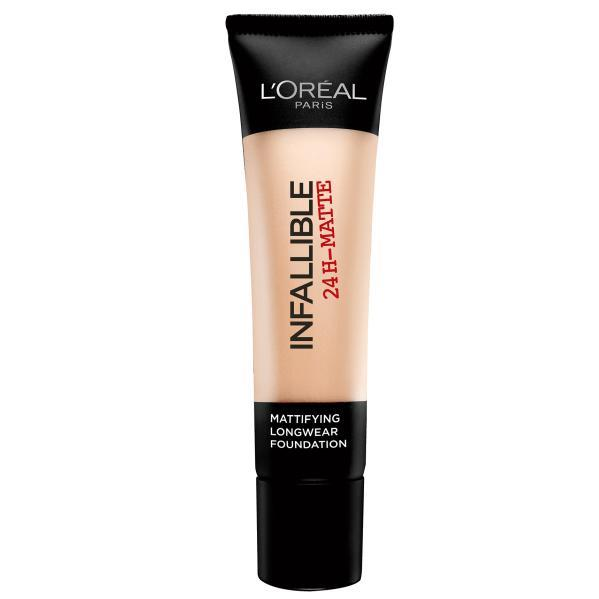 """Ultra-lightweight and easy to wear, L'Oréal's matte option is a favourite of industry specialists and beauty junkies alike.<br><br> Infallible Matte Foundation by L'Oréal Paris, $29.95 at [Priceline](https://www.priceline.com.au/l-oreal-paris-infallible-matte-foundation-35-ml