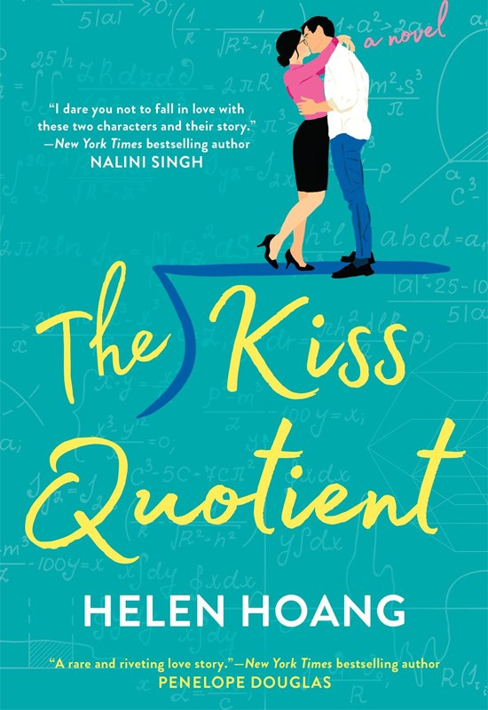 Hoang's debut novel, *The Kiss Quotient*