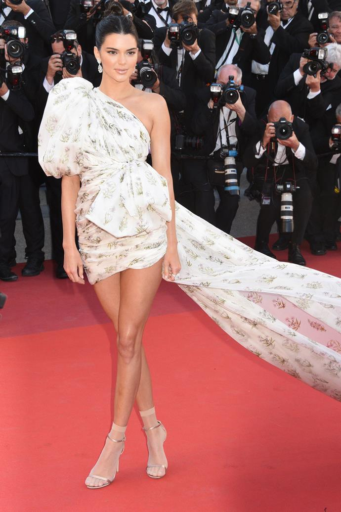 In Giambattista Valli Couture at the Cannes Film Festival, May 2018.
