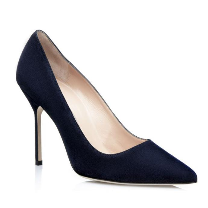 "*Manolo Blahnik 'BB' Suede Pointed Toe Pumps, $1,095 at [Manolo Blahnik](https://www.manoloblahnik.com/au/bb-14523.html|target=""_blank""
