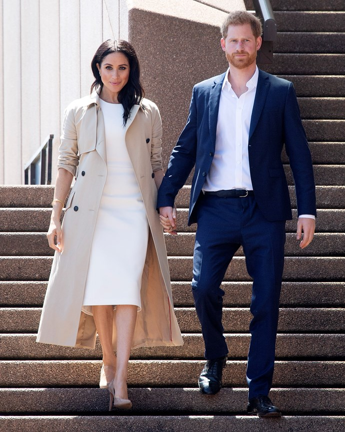***Manolo Blahnik 'BB' Suede Pumps*** <br><br> Meghan owns the 'BB' pumps (which were named after iconic actress Brigitte Bardot) in black, navy, nude and dark green, and wore them on multiple outings during her tour of Australia, New Zealand and the Pacific Islands.