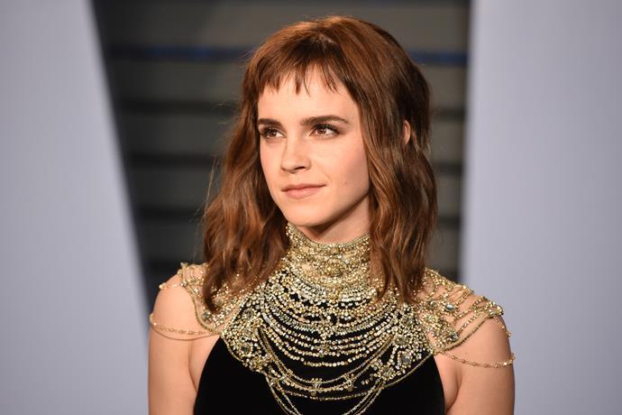 Emma Watson in early 2018.