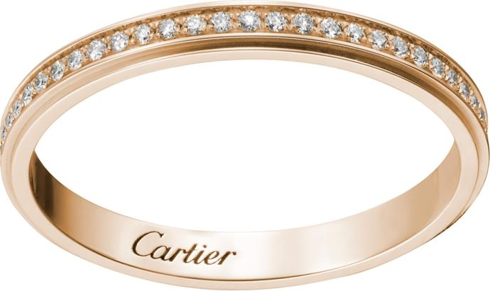"Cartier D'Amour Wedding Ring, $4350, [Cartier](https://www.au.cartier.com/en-au/collections/jewelry/collections/diamond-collection/rings/b4093500-wedding-band.html|target=""_blank""|rel=""nofollow"")."