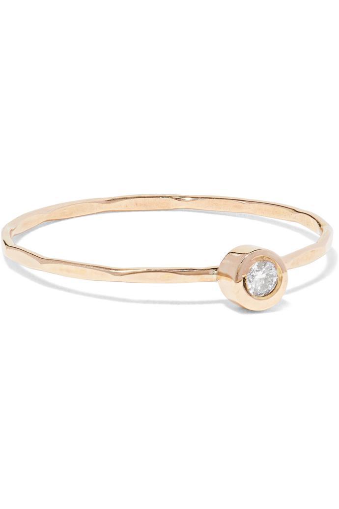 "Melissa Joy Manning, 14-karat gold diamond ring, $526.58, [Net-a-Porter](https://www.net-a-porter.com/au/en/product/1017738|target=""_blank""|rel=""nofollow"")."
