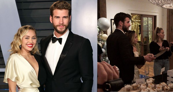 Did Miley Cyrus And Liam Hemsworth Just Get Married In A Secret Wedding