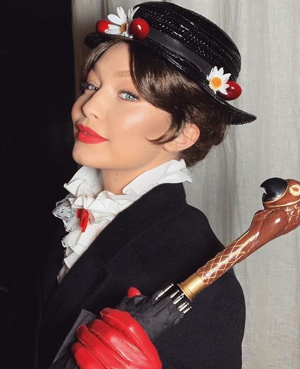 Gigi Hadid's incredible makeup look.