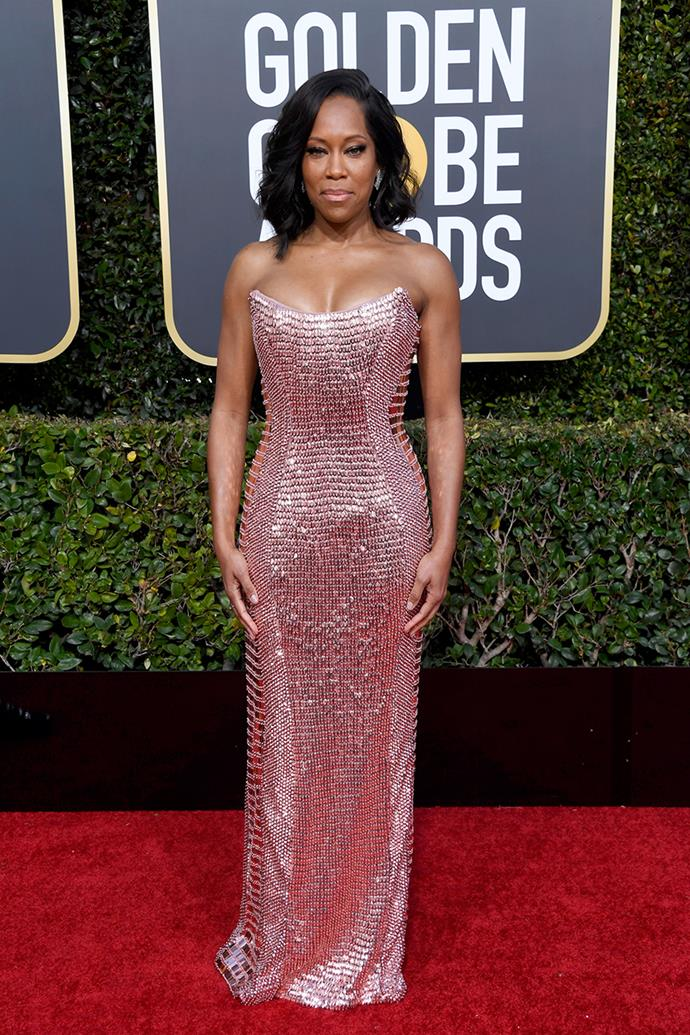 Regina King in Alberta Ferretti.
