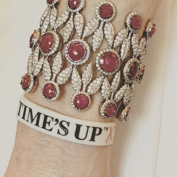 Julianne Moore's arm candy.