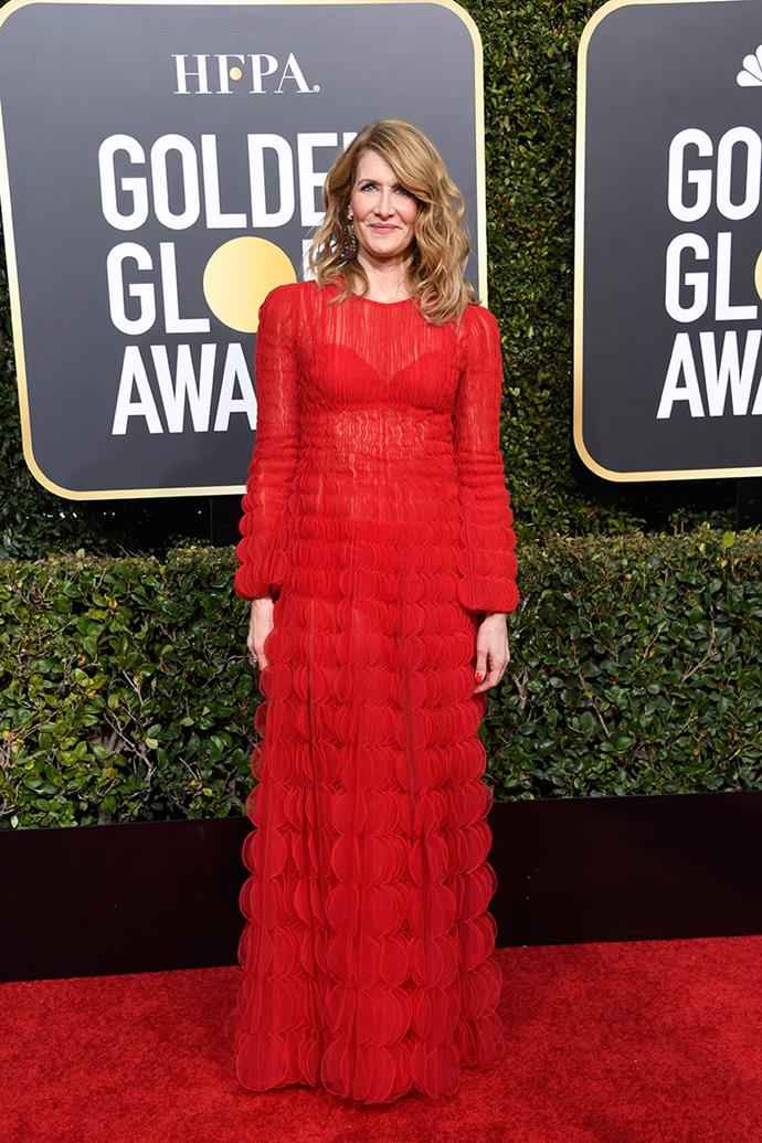 Laura Dern in Valentino.
