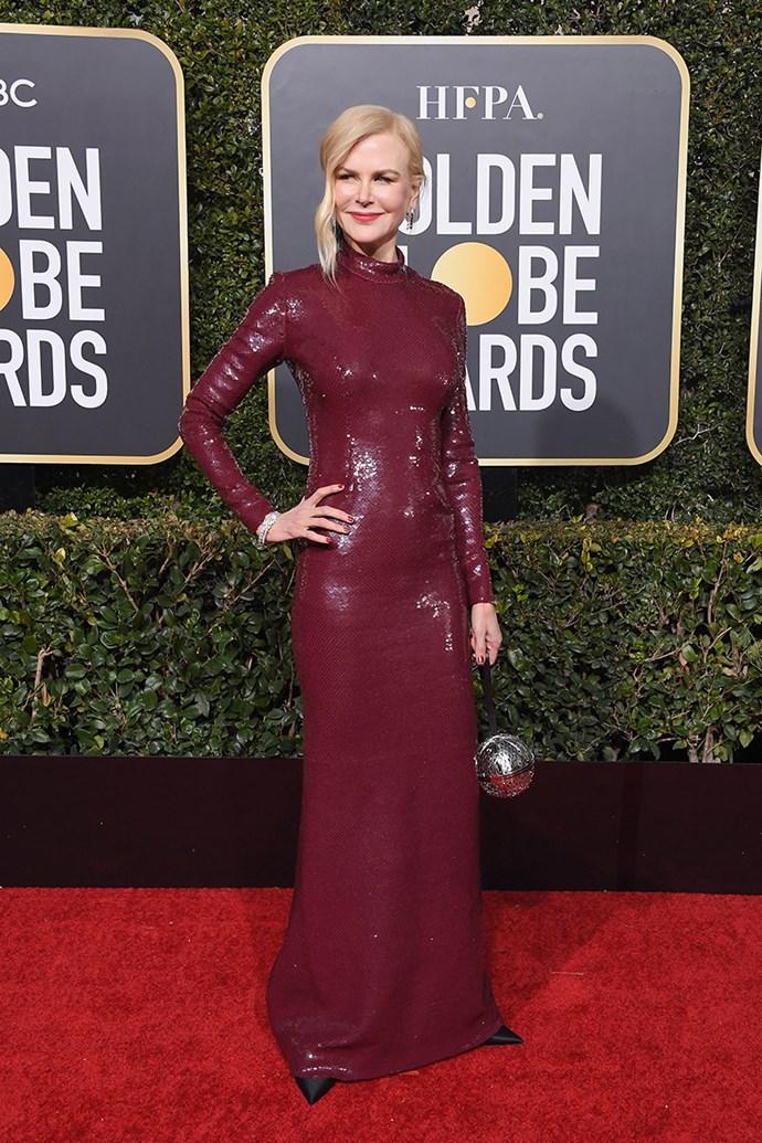 Nicole Kidman in Michael Kors.