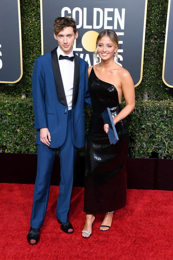 Troye Sivan and his sister, Sage.