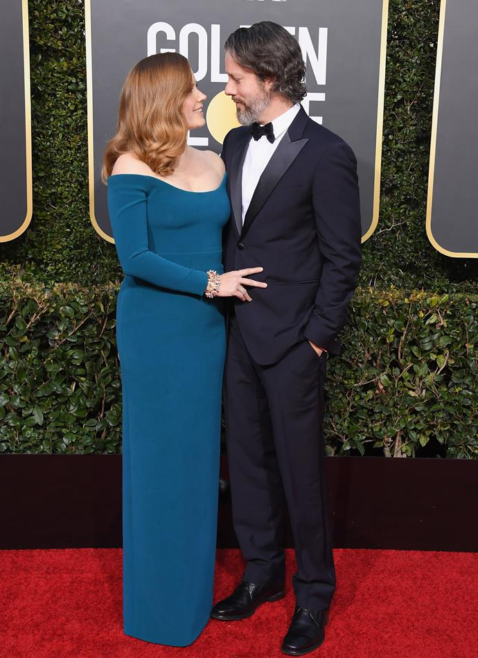 Amy Adams and her husband, Darren Le Gallo.