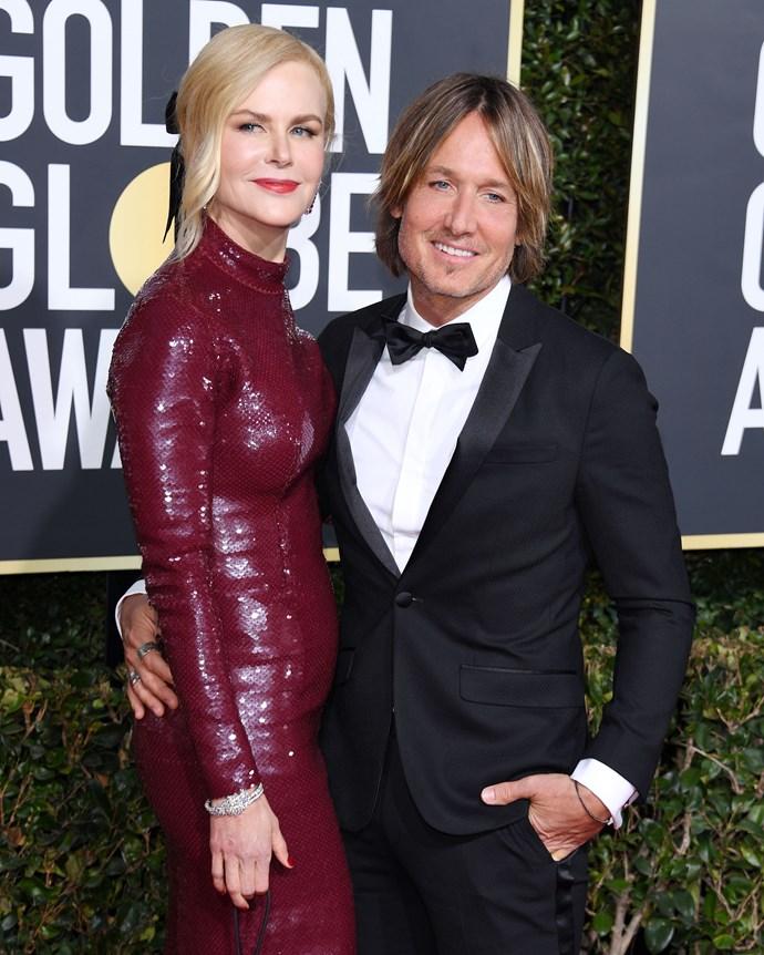 Nicole Kidman and her husband, Keith Urban.