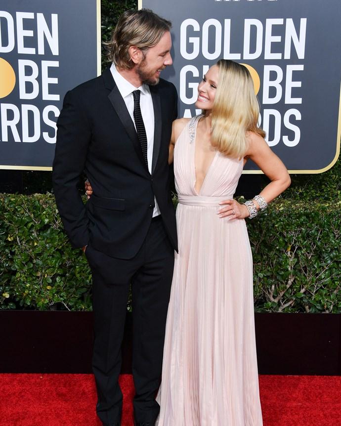 Kristen Bell and her husband, Dax Shepard.